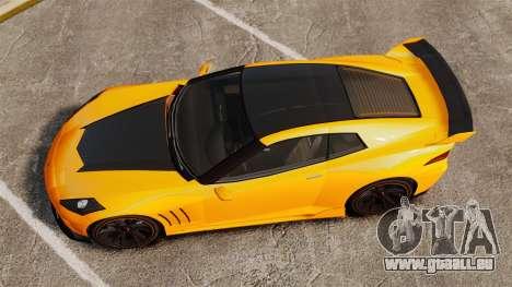 GTA V Inuetero Coquette Hardtop DTD für GTA 4 rechte Ansicht