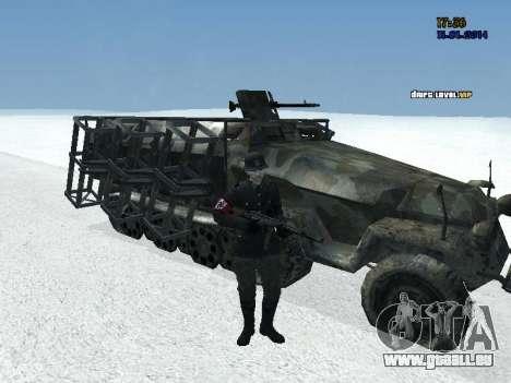 SdKfz 251 für GTA San Andreas