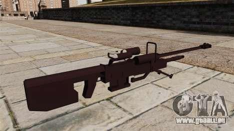 Halo-Scharfschützengewehr für GTA 4 Sekunden Bildschirm