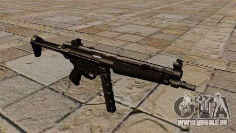 Mitraillette MP5 noir stalker pour GTA 4