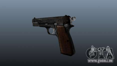 Chargement automatique pistolet Browning Hi-Powe pour GTA 4 secondes d'écran