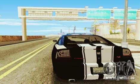 Dodge Charger DUB pour GTA San Andreas vue de droite