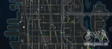 CG4 Radar Map v1.1 pour GTA 4 troisième écran