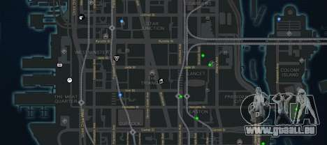 CG4 Radar Map v1.1 für GTA 4 dritte Screenshot