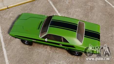 Dodge Challenger 1971 v2 für GTA 4 rechte Ansicht