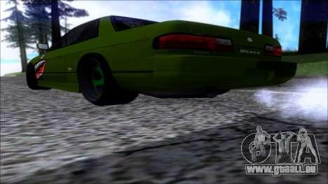 Nissan Onevia Shark pour GTA San Andreas laissé vue