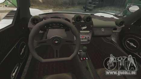 Modena Typhoon pour GTA 4 Vue arrière