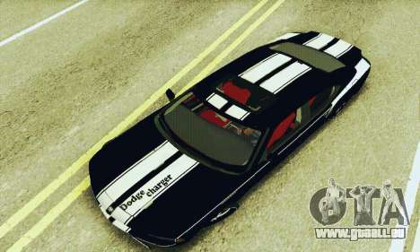 Dodge Charger DUB pour GTA San Andreas vue de côté