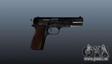 Ladewagen Pistole Browning Hi-Power für GTA 4 dritte Screenshot