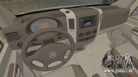 Mercedes-Benz Sprinter 2500 2011 v1.4 pour GTA 4 Vue arrière