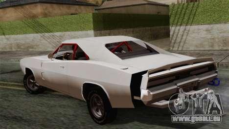 Dodge Charger 6o pour GTA San Andreas laissé vue