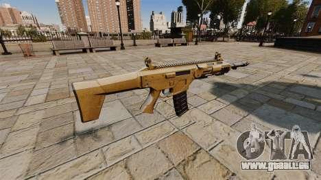 Fusil d'assaut de SMALL BUSINESS SERVER 5.56 pour GTA 4 secondes d'écran