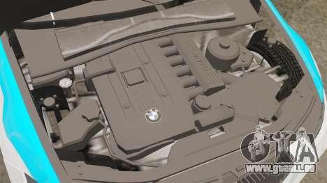 BMW 350i NYPD [ELS] pour GTA 4 est une vue de l'intérieur