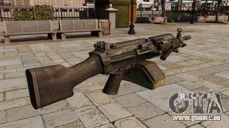 M249 light machine gun pour GTA 4 secondes d'écran