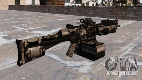 Allzweck-Maschinengewehr HK23E für GTA 4 Sekunden Bildschirm