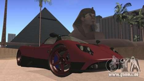 Pagani Zonda pour GTA San Andreas