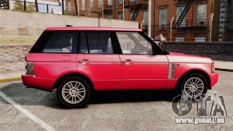 Range Rover TDV8 Vogue für GTA 4 linke Ansicht