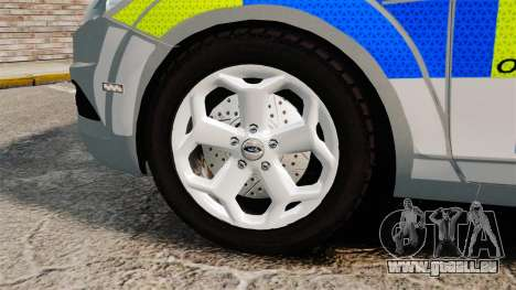 Ford Focus Estate Norfolk Constabulary [ELS] für GTA 4 Rückansicht