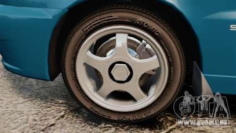 Daewoo Lanos PL 2001 pour GTA 4 Vue arrière