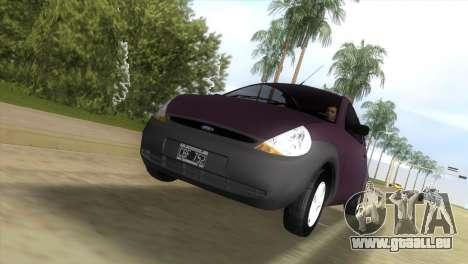 Ford Ka pour GTA Vice City sur la vue arrière gauche