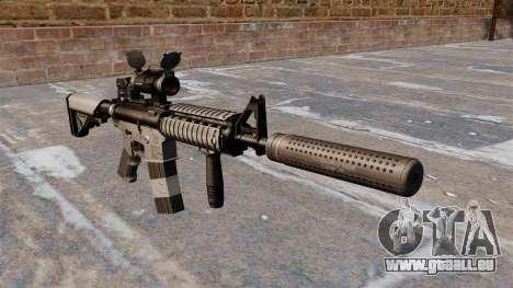 Automatique M4 carbine pour GTA 4