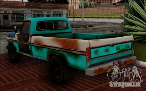 Ford F-150 Old Crate Edition für GTA San Andreas linke Ansicht