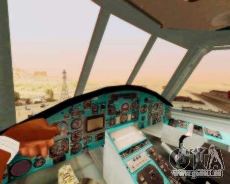 MI-26 für GTA San Andreas Rückansicht
