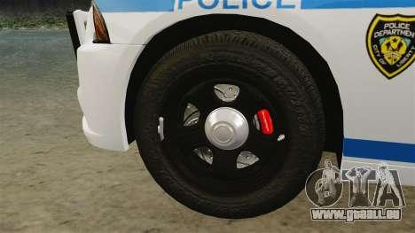 Dodge Charger 2012 LCPD [ELS] pour GTA 4 est une vue de l'intérieur