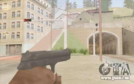 Pistolet Stechkin pour GTA San Andreas deuxième écran