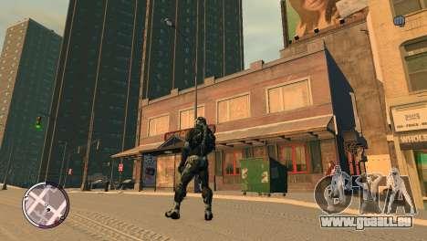 Crysis NanoSuit pour GTA 4 secondes d'écran