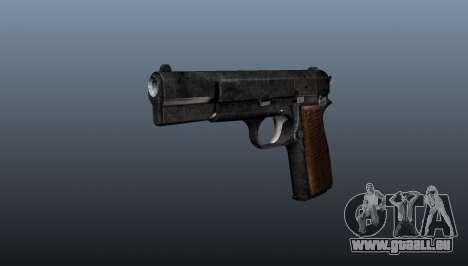 Chargement automatique pistolet Browning Hi-Powe pour GTA 4