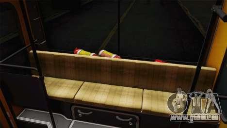 LIAZ 5256.00 für GTA San Andreas Rückansicht