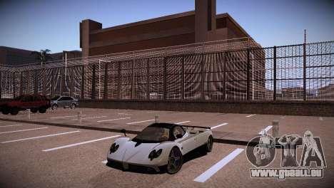 Pagani Zonda für GTA San Andreas Rückansicht