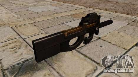P90 Maschinenpistole für GTA 4 Sekunden Bildschirm