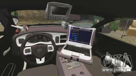Dodge Charger 2013 LCPD STL-K Force [ELS] pour GTA 4 Vue arrière