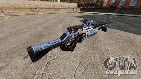 Fusil de sniper de Mass Effect pour GTA 4 secondes d'écran