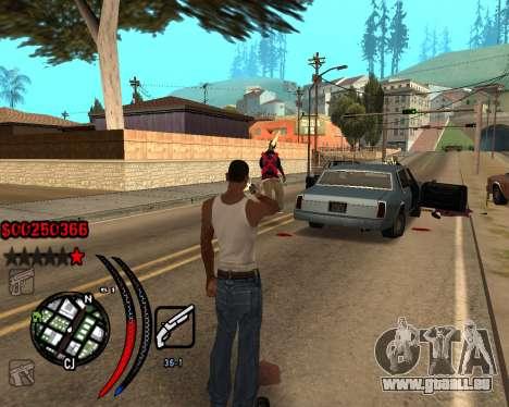 C-HUD Carbon für GTA San Andreas