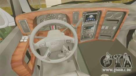 GMC Tough Guy pour GTA 4 Vue arrière