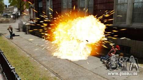 Explosion de balles pour GTA 4 quatrième écran