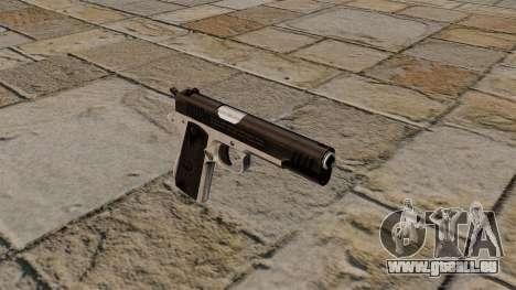 Halbautomatische Pistole Taurus PT1911 für GTA 4