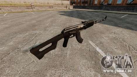 Kalaschnikow Maschinengewehr für GTA 4 Sekunden Bildschirm