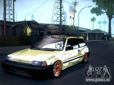 Honda Civic Si 1986 pour GTA San Andreas