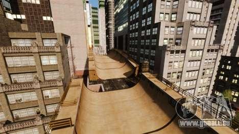 Algonquin Stunt Ramp für GTA 4 Sekunden Bildschirm