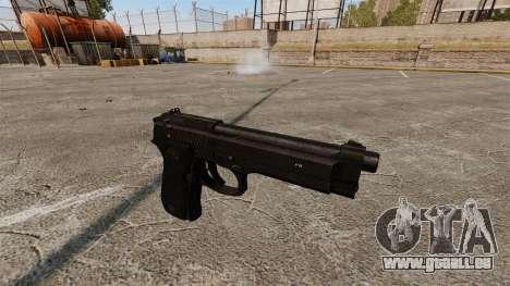 Beretta M9 Pistole für GTA 4