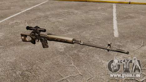 Dragunov sniper rifle v2 pour GTA 4