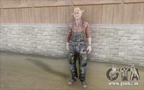 Landwirt für GTA San Andreas