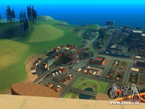 ENBSeries with View Distance pour GTA San Andreas deuxième écran