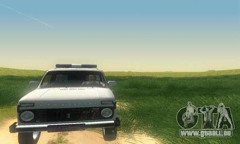 Lada Niva Patrola pour GTA San Andreas laissé vue