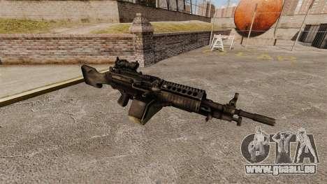 Mitrailleuse légère de FN Mk 46 pour GTA 4