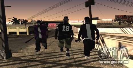 HQ SkinPack Ballas pour GTA San Andreas